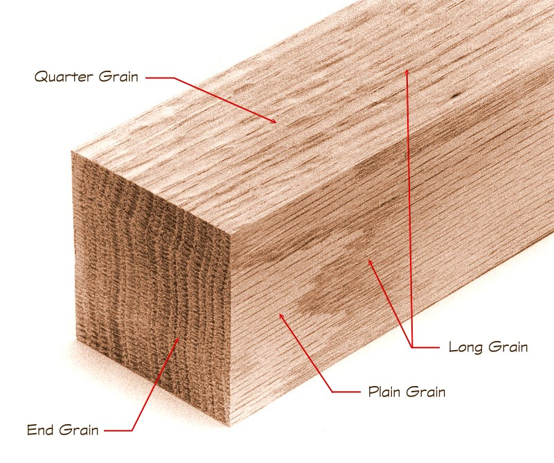 The Nature of Wood -- Wood Grain